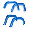 EGR 16+ Toyota Tacoma w/Mudflap Bolt-On Look Color Match Fender Flares - Set - Blazing Blue