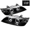 Spyder BMW Z3 96-02 Projector Headlights LED Halo Black High H1 Low H1 PRO-YD-BMWZ396-HL-BK