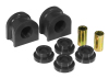 Prothane 00-01 Chevy Suburban / Tahoe Rear Sway Bar Bushings - 1.1in - Black