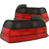 ANZO 1992-1998 BMW 3 Series E36 Taillights Red/Smoke