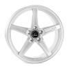 Cosmis Racing R5 Silver Wheel 18x8.5 +40mm Offset 5x108