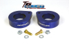ReadyLift Suspension 07-15 Jeep Wrangler JK 1.5in T6 Billet Aluminum Leveling Kit Anodized - Blue