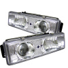 Spyder Chevy C/K Series 1500 88-99 Projector Headlights Chrm High 9005 (Not Include) PRO-YD-CCK88-C