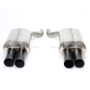 Dinan Free Flow Stainless Steel Exhaust w/ Black Tips -BMW M6 2010-2006