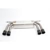 Dinan Free Flow Stainless Steel Exhaust w/ Black Tips -BMW X5 2013-2010 X6 2014-2010