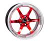 Cosmis Racing XT-006R Red w/ Machined Lip Wheel 18x11 +8mm 5x114.3