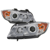 Spyder BMW E90 3-Series 06-08 4DR V2 Headlights - HID Only - Chrome PRO-YD-BMWE9005V2-HID-DRL-C