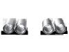 Akrapovic 07-13 BMW M3 (E90) Tail Pipe Set (Titanium)