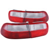 ANZO 1992-1995 Honda Civic Taillights Red/Clear - OEM