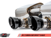 AWE Tuning 991.2 Carrera / S SwitchPath Exhaust for PSE Cars - Diamond Black Tips