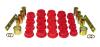 Prothane 06-11 Honda Civic Rear Control Arm Bushings - Red