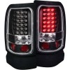 ANZO 1994-2001 Dodge Ram LED Taillights Black