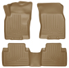 Husky Liners WeatherBeater 14 Nissan Rogue Front & Second Row Tan Floor Liners