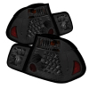 Spyder BMW E46 3-Series 02-05 4Dr Tail Lights Smke ALT-YD-BE4602-4D-LED-SM