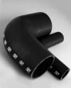 Turbosmart 90 Elbow 1.75 - Black Silicone Hose