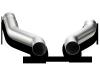 Akrapovic 10-14 Porsche Cayenne S/GTS (958) Link-Pipe Set (Titanium)