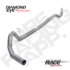 Diamond Eye 11-15 Chevy/GMC 6.6L 2500/3500 4in Aluminized DPF Downpipe Back System