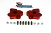 ReadyLift Suspension 06-15 Dodge Ram 1500 2.0in T6 Billet Aluminum Leveling Kit Anodized - Red