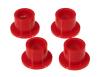 Prothane 02-07 Dodge Ram 2wd Steering Rack Bushings - Red