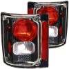 ANZO 1973-1987 Chevrolet C 10 Taillights Carbon