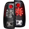 ANZO 1997-2003 Ford F-150 LED Taillights Black