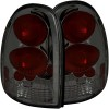 ANZO 1996-2000 Chrysler Voyager Taillights Smoke