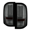Spyder 2010 Chevy Silverado Version 2 LED Tail Lights Smoke ALT-YD-CS10V2-LED-SM