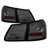 Spyder 07-11 Lexus GS 350 LED Tail Lights Smoke ALT-YD-LGS06-LED-SM