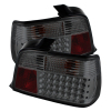 Spyder BMW E36 3-Series 92-98 4Dr LED Tail Lights Smoke ALT-YD-BE3692-4D-LED-SM
