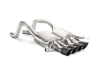 Akrapovic 14-17 Chevrolet Corvette Z06 (C7) Slip-On Line (Titanium) w/ Carbon Tips