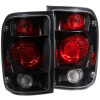 ANZO 1998-2000 Ford Ranger Taillights Dark Smoke G2