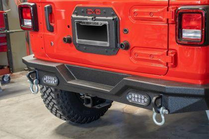 DV8 Spare Tire Delete Kit