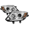 Spyder BMW Z4 03-08 Projector Headlights Halogen Model Only - LED Halo Chrome PRO-YD-BMWZ403-HL-C