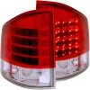 ANZO 1995-2005 Chevrolet S-10 LED Taillights Red/Clear