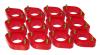 Prothane 07+ Jeep Wrangler JK Body Spacer Kit - 1in Lift - Red