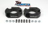 ReadyLift Suspension 04-15 Ford F150/Mark LT 2.0in T6 Billet Aluminum Leveling Kit Anodized - Black