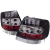 Spyder Audi A4 96-01 LED Tail Lights Black ALT-YD-AA496-LED-BK