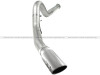 aFe Atlas 5in DPF-Back Aluminized Steel Exh Sys, Ford Diesel Trucks 11-14 v8-6.7L (td) Polished tip