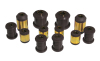 Prothane 00-01 Toyota Celica Rear Control Arm Bushings - Black