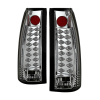 Spyder Chevy C/K Series 1500 88-98/Blazer 92-94 LED Tail Lights Chrm ALT-YD-CCK88-LED-C
