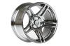 Cosmis Racing S5R Wheel Black Chrome 17X10 +22mm 5x114.3
