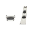 Dinan Aluminum Pedal Cover Set for BMW with Automatic Transmission/DCT -No Applications