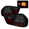 Spyder BMW E90 3-Series 06-08 4Dr LED Tail Lights Smoke ALT-YD-BE9006-LED-SM