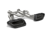 Akrapovic 14-17 McLaren 650S/650S Spyder Slip-On Line (Titanium) w/ Carbon Tips