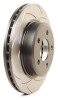 DBA 00 Honda Element/Odyssey Rear Street Series T2 Slotted Rotor