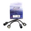 BBK 11-14 Mustang V6 GT Rear O2 Sensor Wire Harness Extensions 12 (pair)