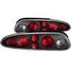 ANZO 1993-2002 Chevrolet Camaro Taillights Black