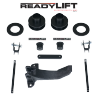 ReadyLift Suspension 05-07 Ford F350/450/550 2.5in Fr Coil Spacer Lvling Kit w/ Track Bar Relocation