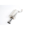 Dinan Free Flow Stainless Steel Exhaust -BMW 540i 2003-1997