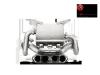Akrapovic 11-17 Lamborghini Aventador Slip-On Line (Titanium-Inconel) w/ Carbon Titanium Tips